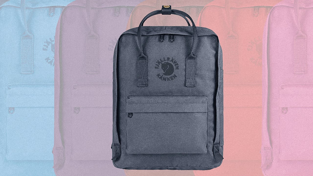 Get A Classic Swedish Backpack Design, Now Made With Recycled Water Bottles
