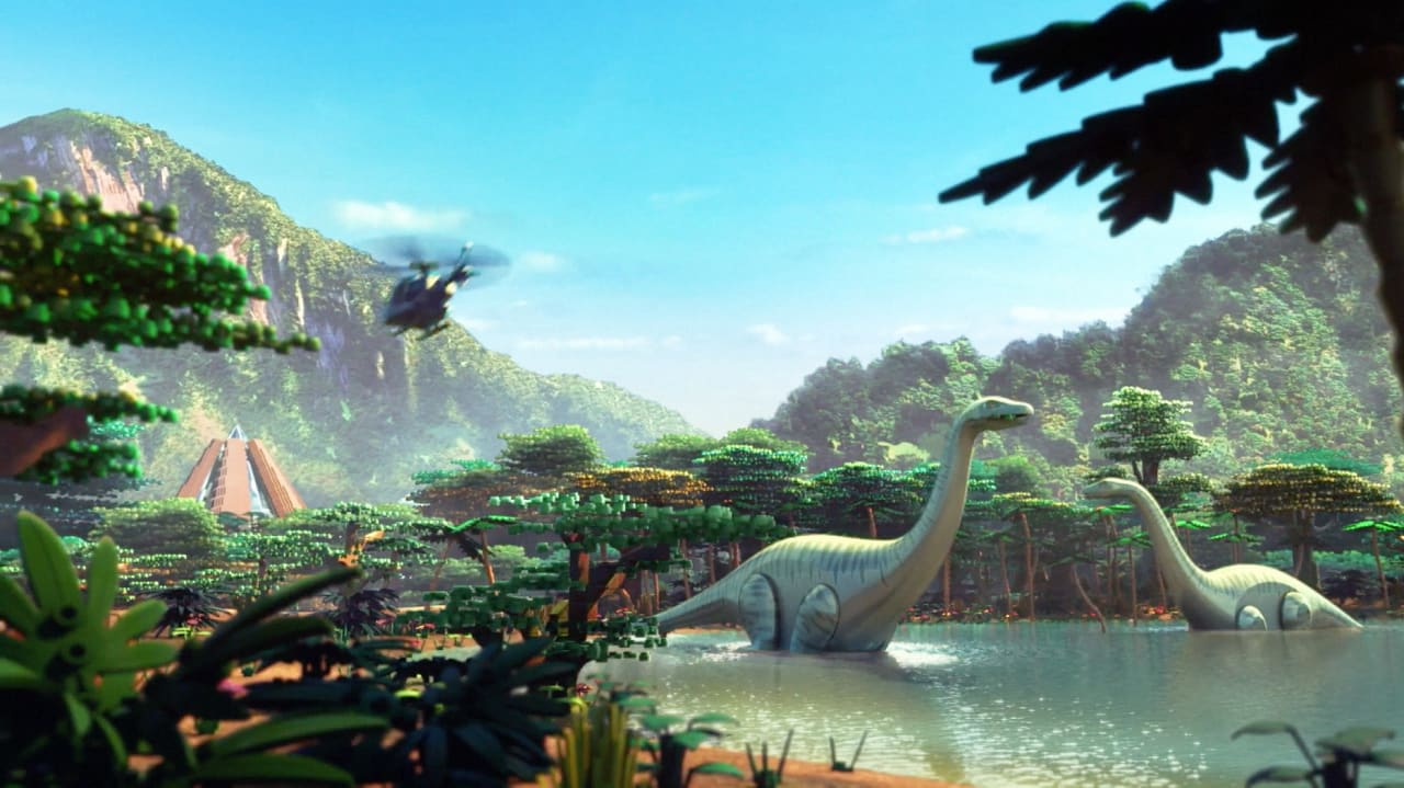 The New Lego Jurassic World Animated Short Looks Just As Awesome As You'd Expect
