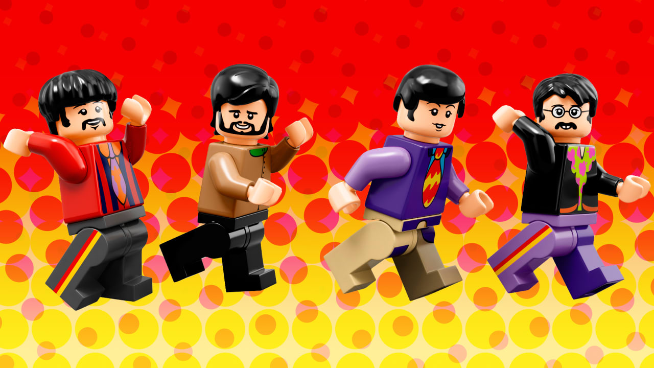Lego Wants Us All To Live In A Tiny, Brick, Yellow Submarine With A Beatles-Themed Set