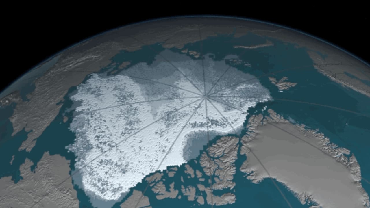 Watch How Quickly Arctic Sea Ice Is Disappearing