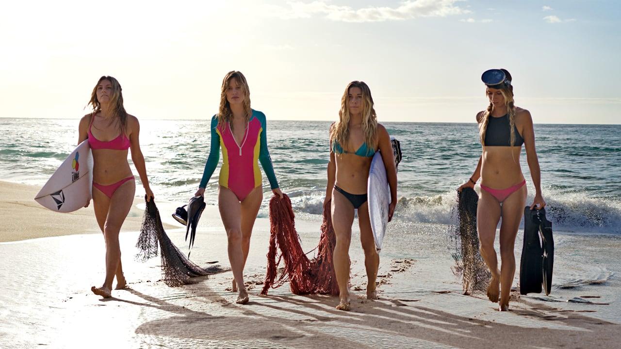 Fishing net bikinis