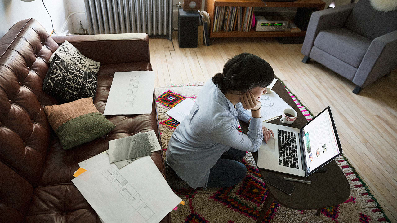 The Home Office Is Being Replaced By Open-Plan, Flexible Home Work Spaces