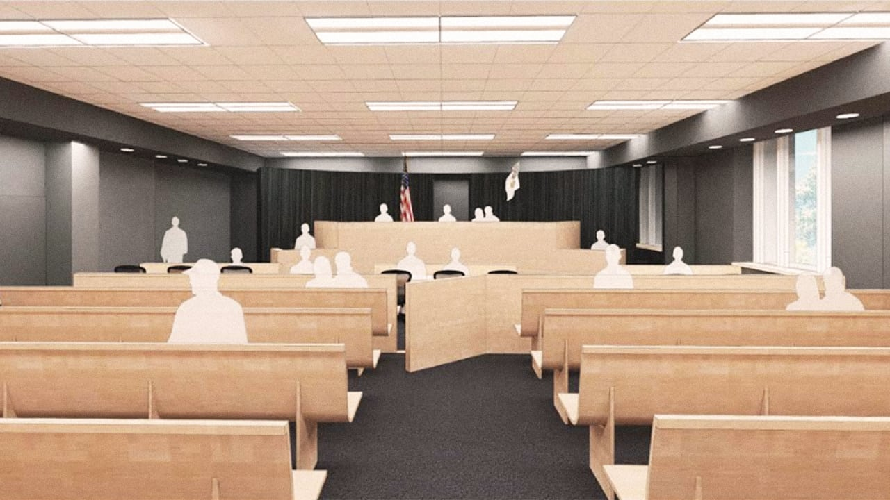 Can A Redesigned Courtroom Make The Justice System More Just?