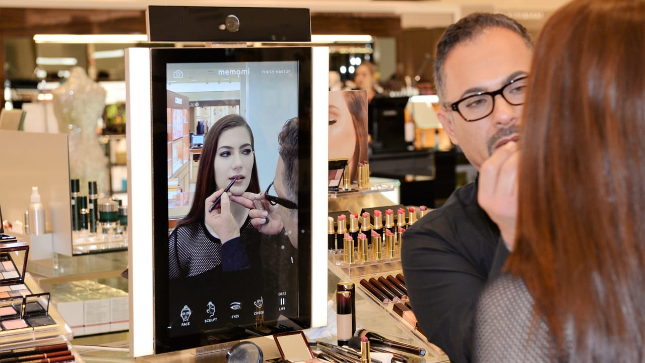 Interactive Magic Mirrors Are Changing How We See Ourselves And Shop