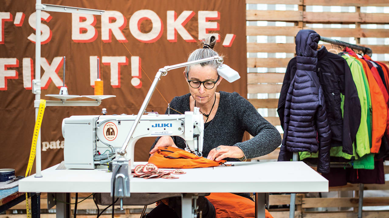 Patagonia Wants To Refurbish Your Old Clothes And Sell Them To Someone Else
