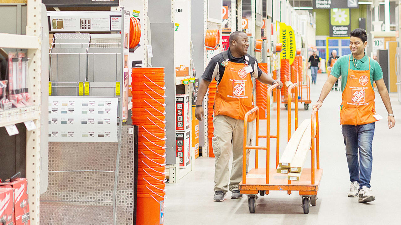 home depot employee services
