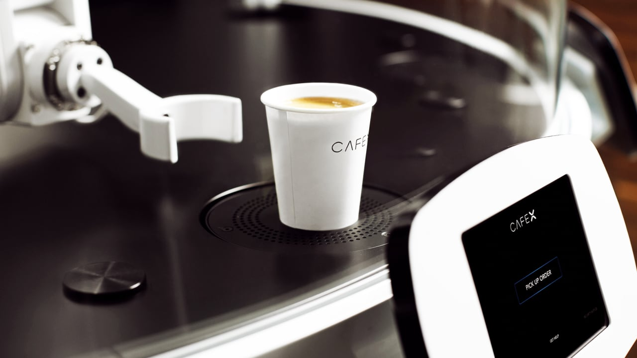 At San Francisco S New Cafe X A Robot Makes Your Coffee