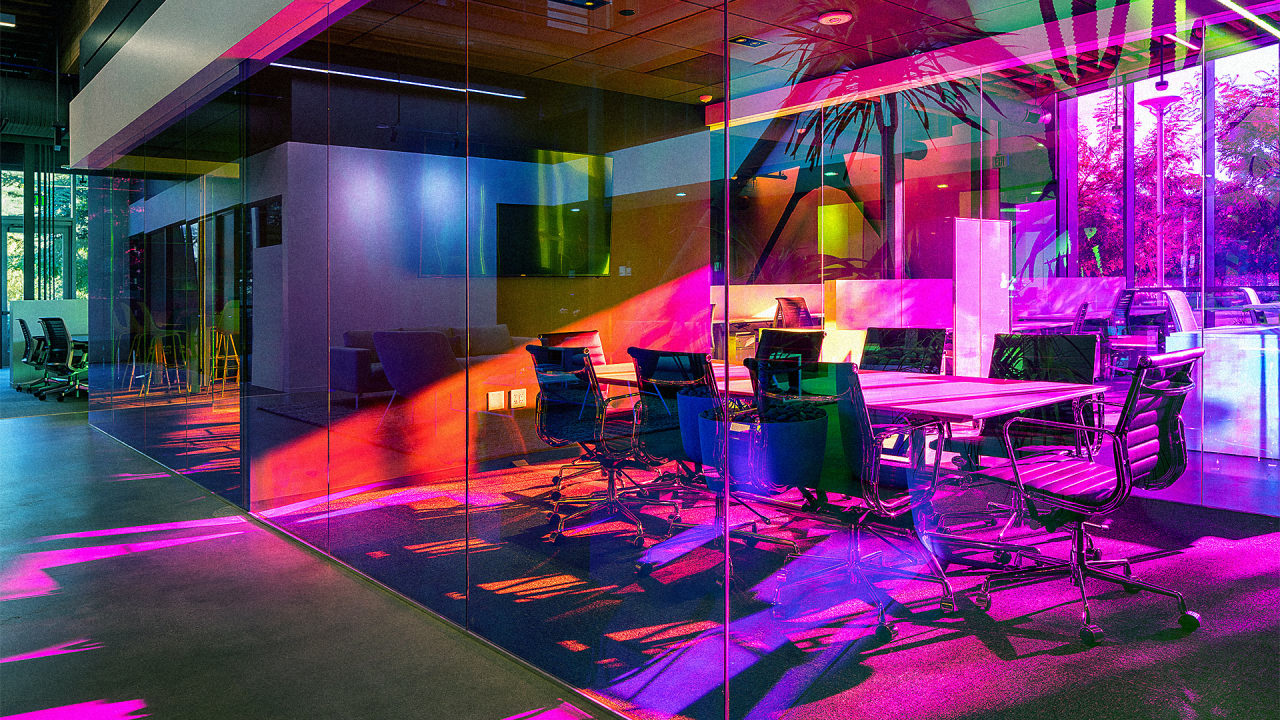 If Rainbow Brite Had An Office It Would Look Like This