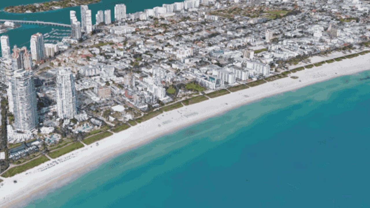 Sea Levels Could Rise 8 Feet: See How That Will Drown Your City