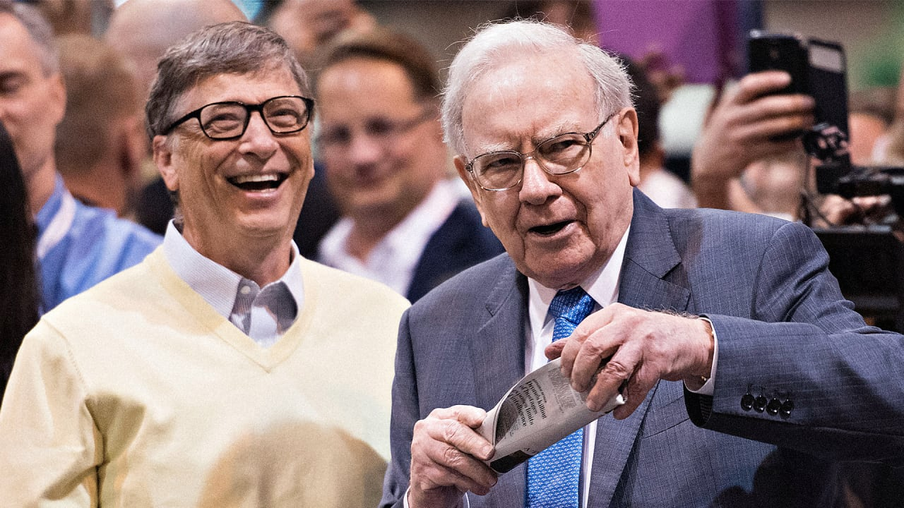 Warren Buffet Gave Bill Gates $30 Billion: Here's How It's Paying Off
