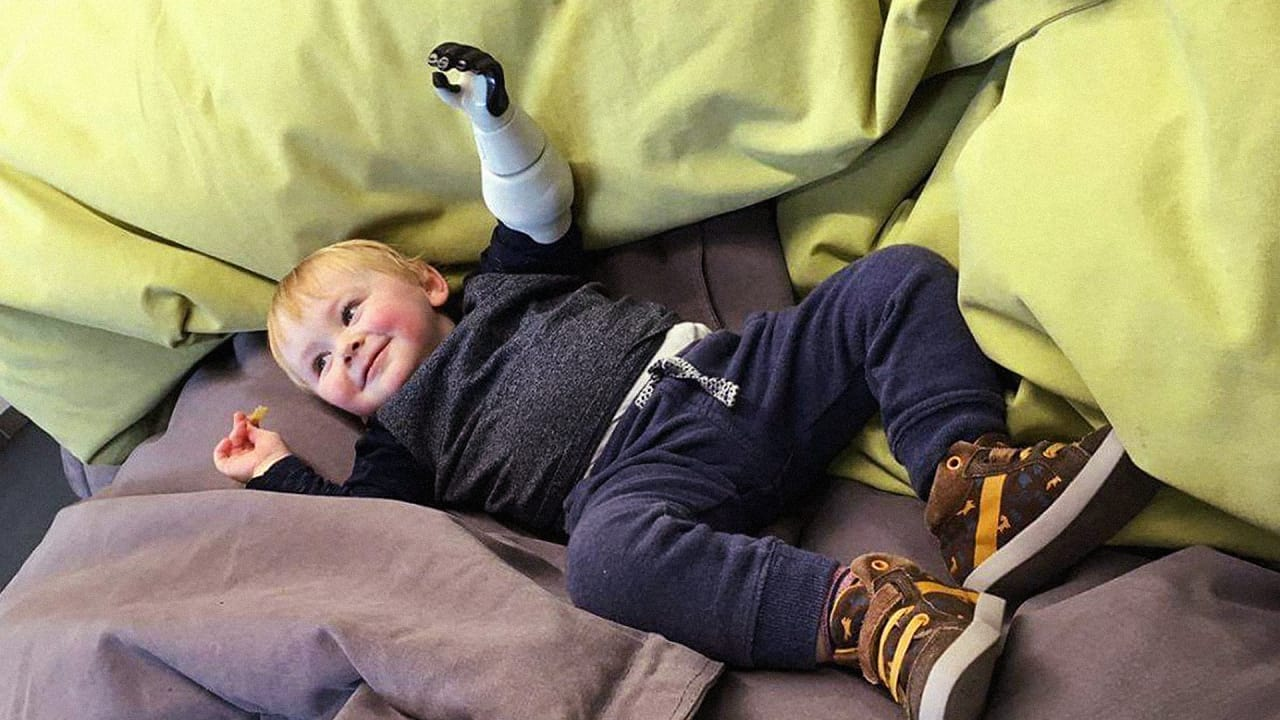 This Father 3D Printed A Bionic Arm For His Infant Son, And Now Other Kids Can Have One