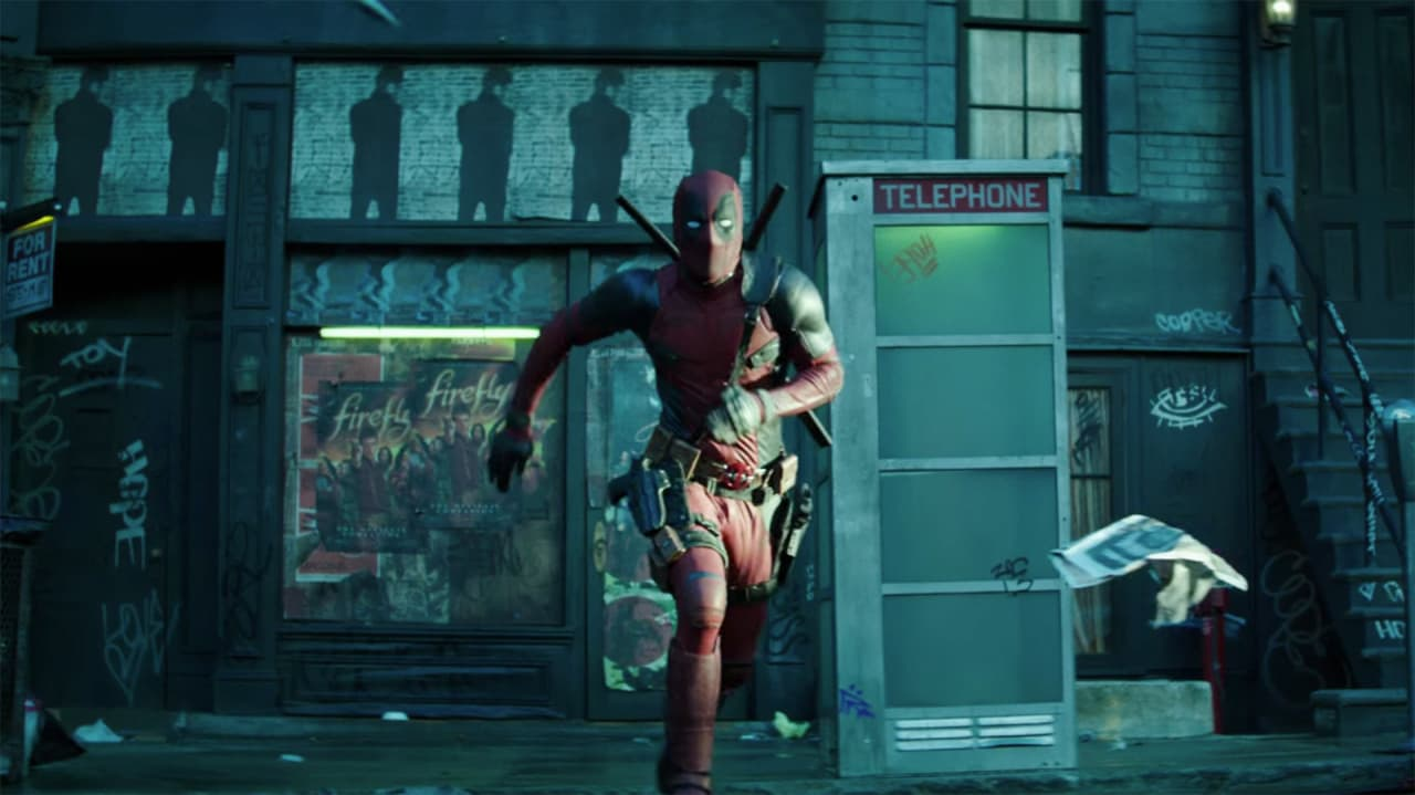 You can now watch the deadpool short film that plays for Watch balcony short film