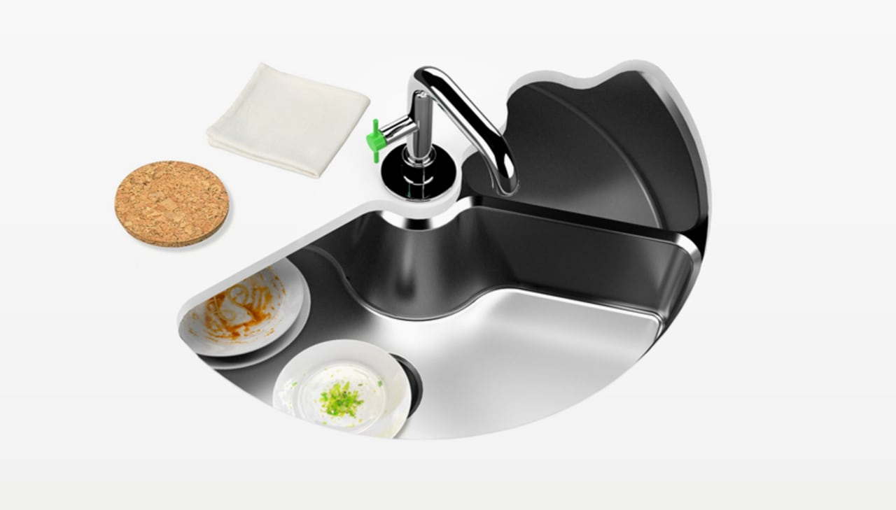 Simple Genius: A Kitchen Sink That Doubles As A Dishwasher