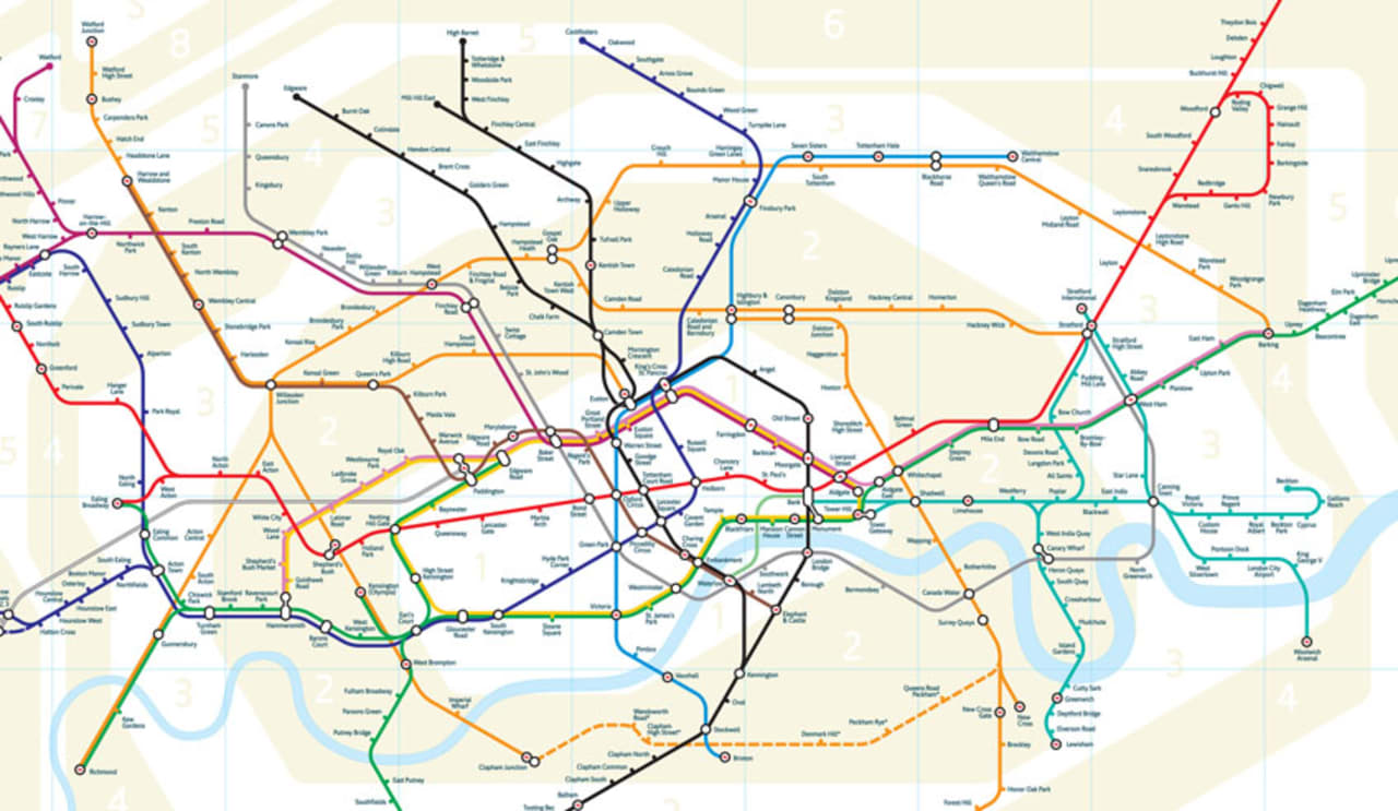 london tube map sparks furor over what design means