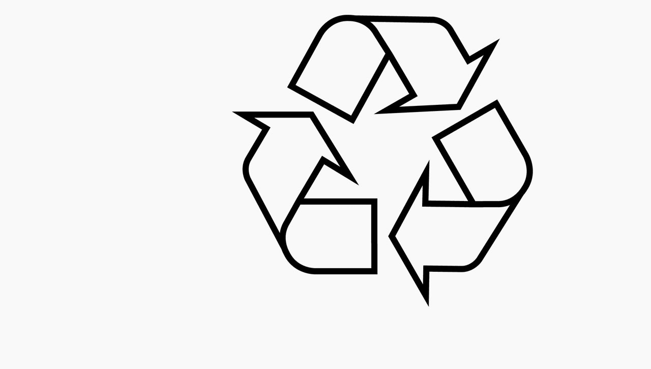how a student designed the recycling logo  and got a measly  2 500