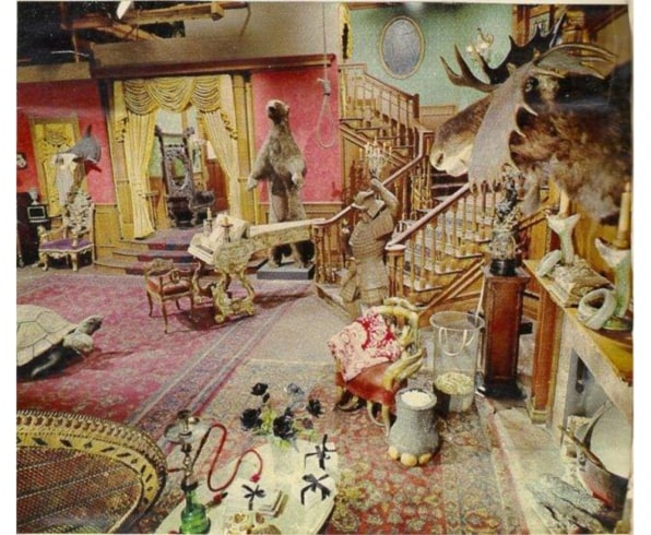 The Addams Family S Living Room Was Pink