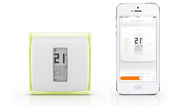 check out philippe starck s glammy new smart thermostat. Black Bedroom Furniture Sets. Home Design Ideas