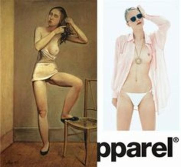 apparel american Nude add
