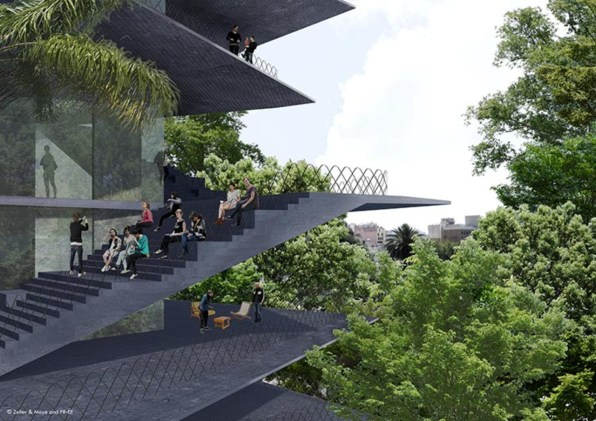 A Terraced Tower Will Display Mexico City's Best Design
