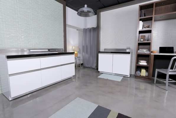 GE Microkitchen Concept Suits (Ultra) Tiny Homes