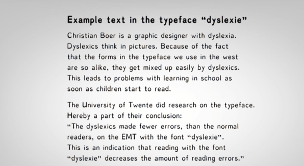 A Typeface For Dyslexics Don T Buy Into The Hype