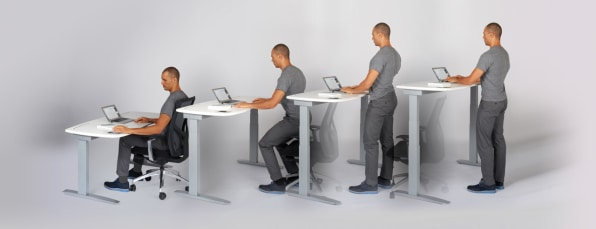 This Desk Knows When You Ve Been Sitting Too Long And