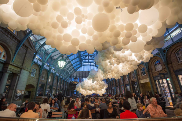 New Installation Invades Central London With 100,000 Balloons
