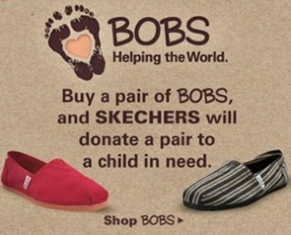 TOMS vs. BOBS: How Skechers Shot