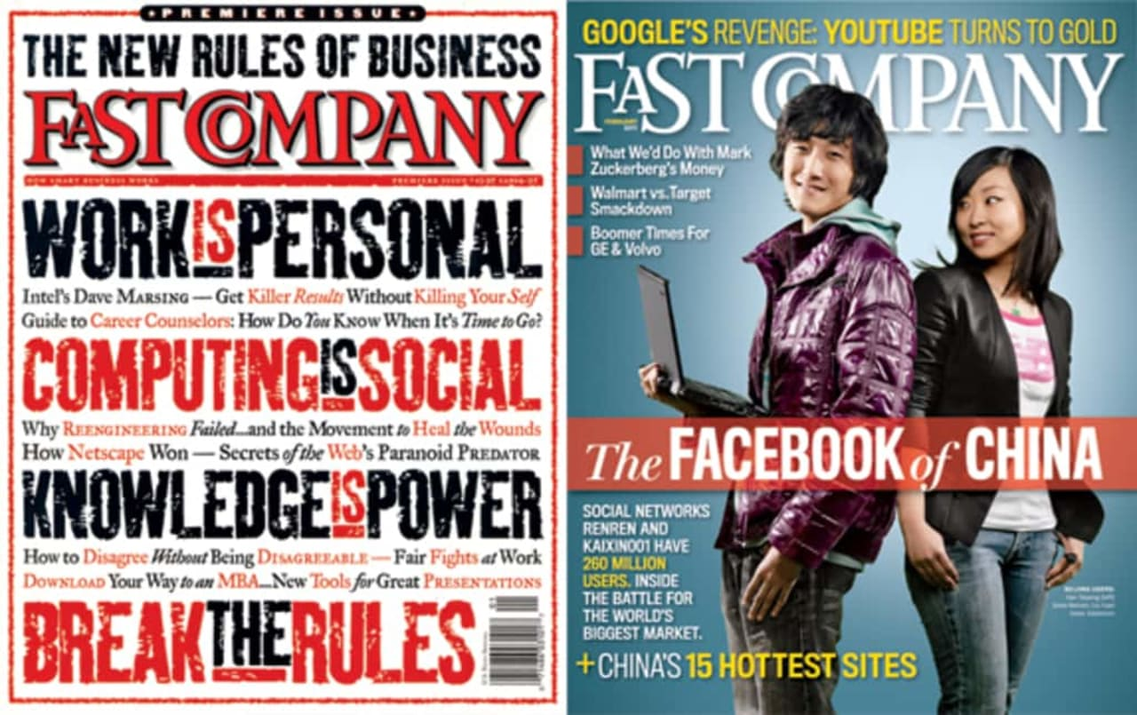 Fast Company From Cover to Cover
