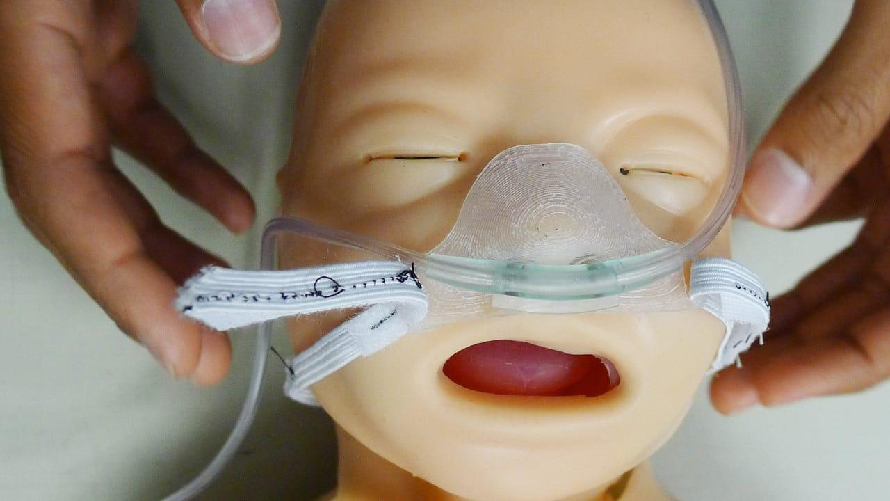 pediatric respirator mask
