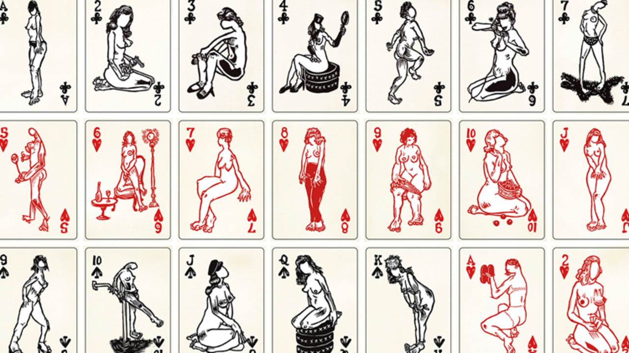 Naked Charm: Nudie Playing Cards Get A Contemporary