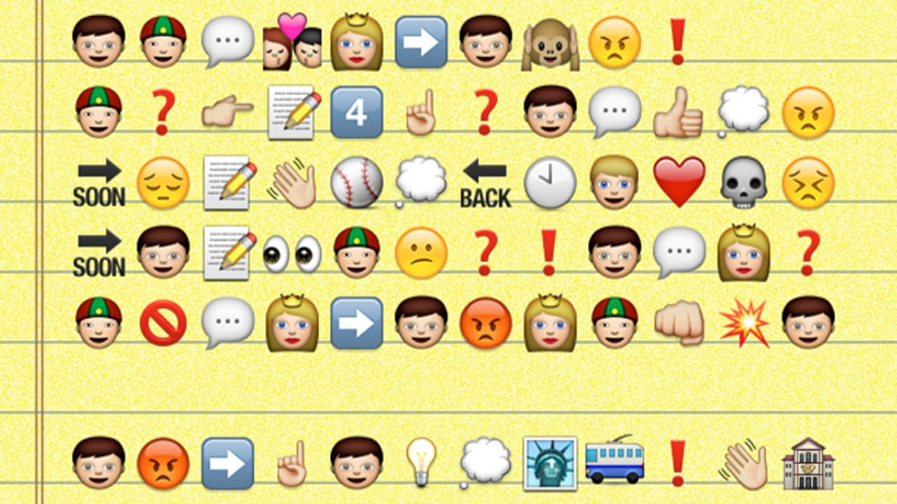 Emoji Major No 4 The Character Catcher In The Rye Salingers Sto
