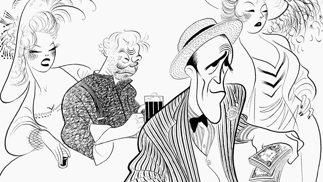 18 Of Al Hirschfelds Greatest Drawings