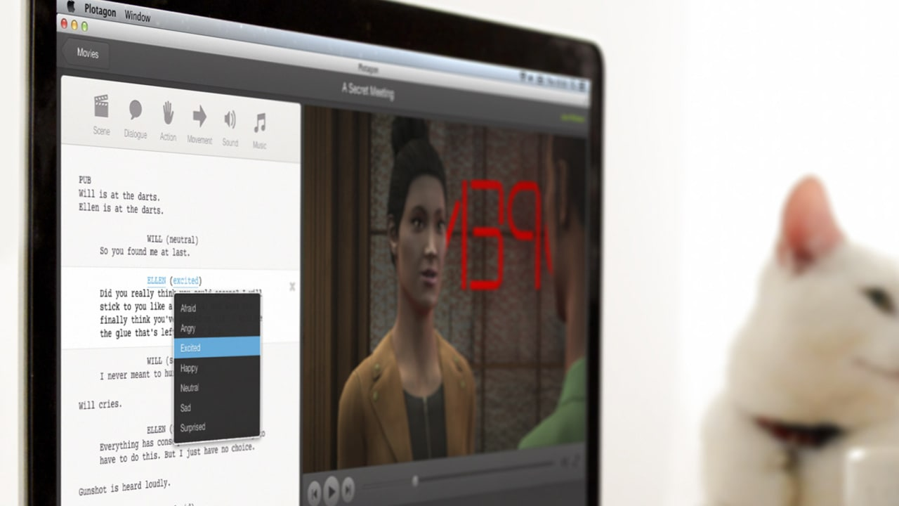 Type Your Own Animated Movie With This Crazy Software