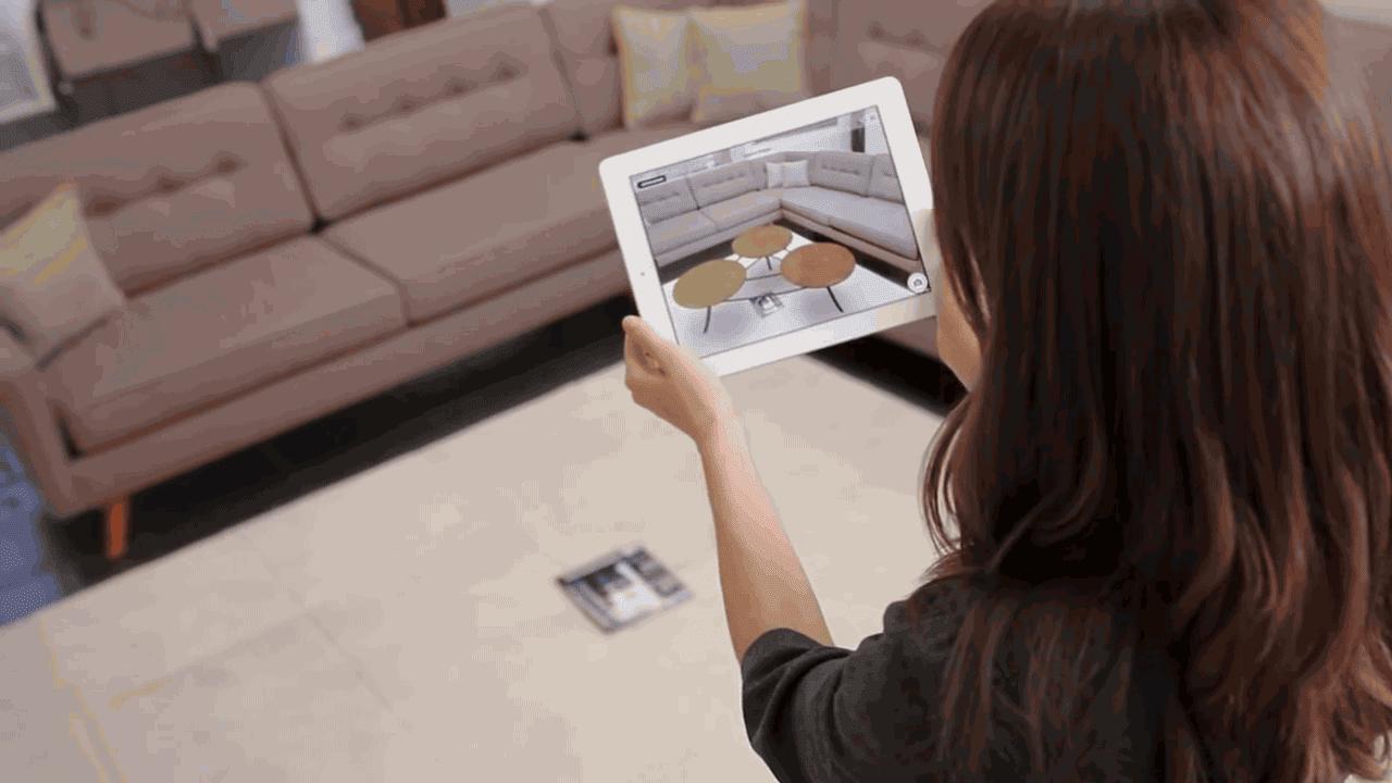 This Crazy App Turns A Magazine Into An Interior Design Tool