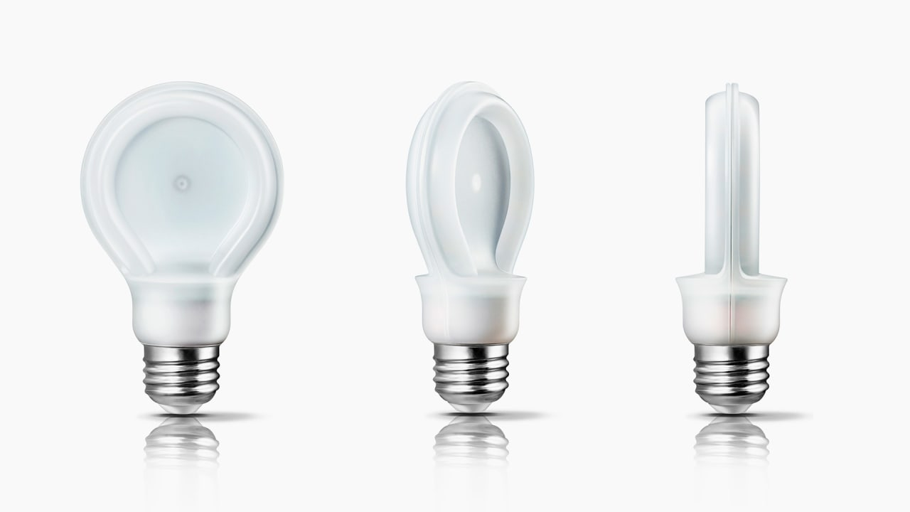 Why Philips Flattened The Light Bulb