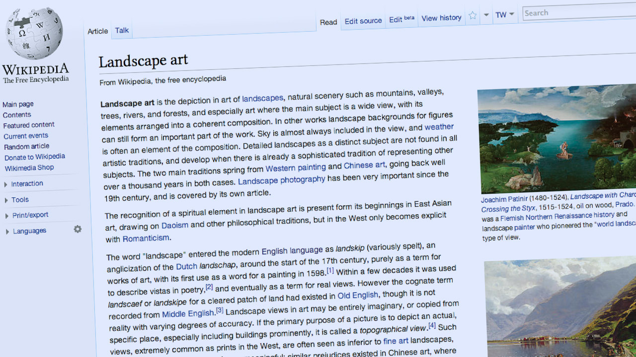 The More Beautiful Wikipedia That Almost Was
