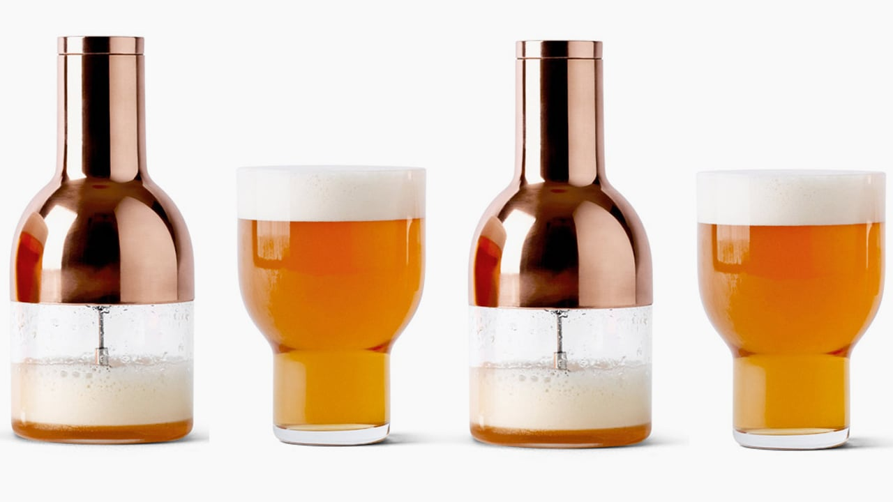 Beautiful Beer Foamer Elevates Craft Beer To Craft Cocktail