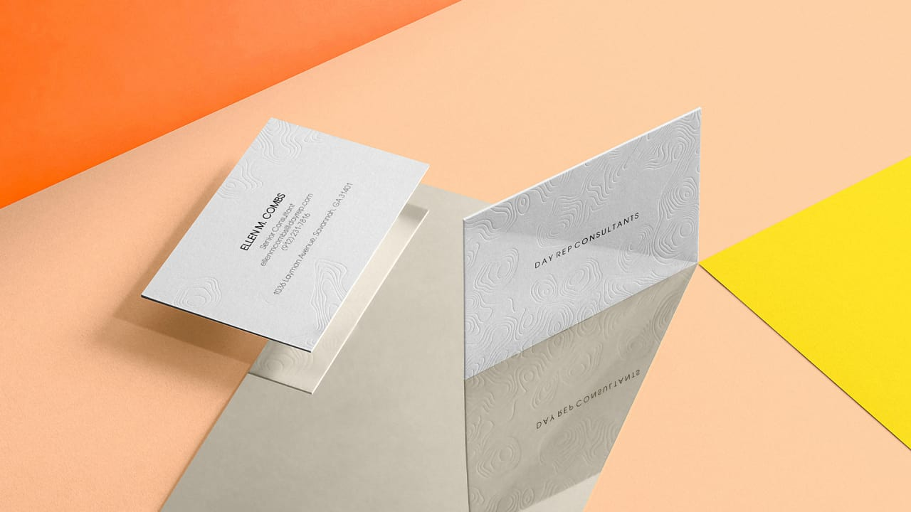 moo is now selling letterpress business cards that arent really lette - Letterpress Business Cards