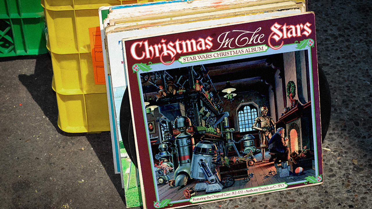 the story behind star warss forgotten christmas album - What Do You Get A Wookie For Christmas