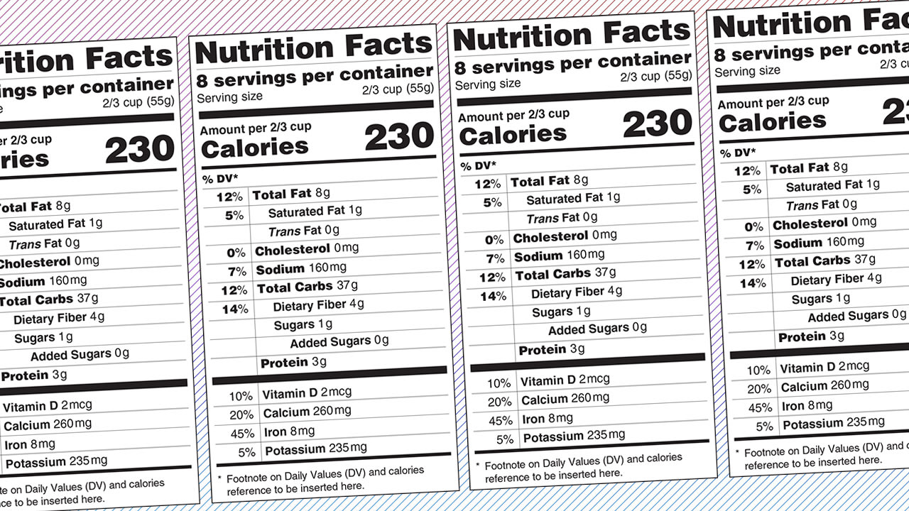 Are We Designing Nutrition Labels All Wrong?