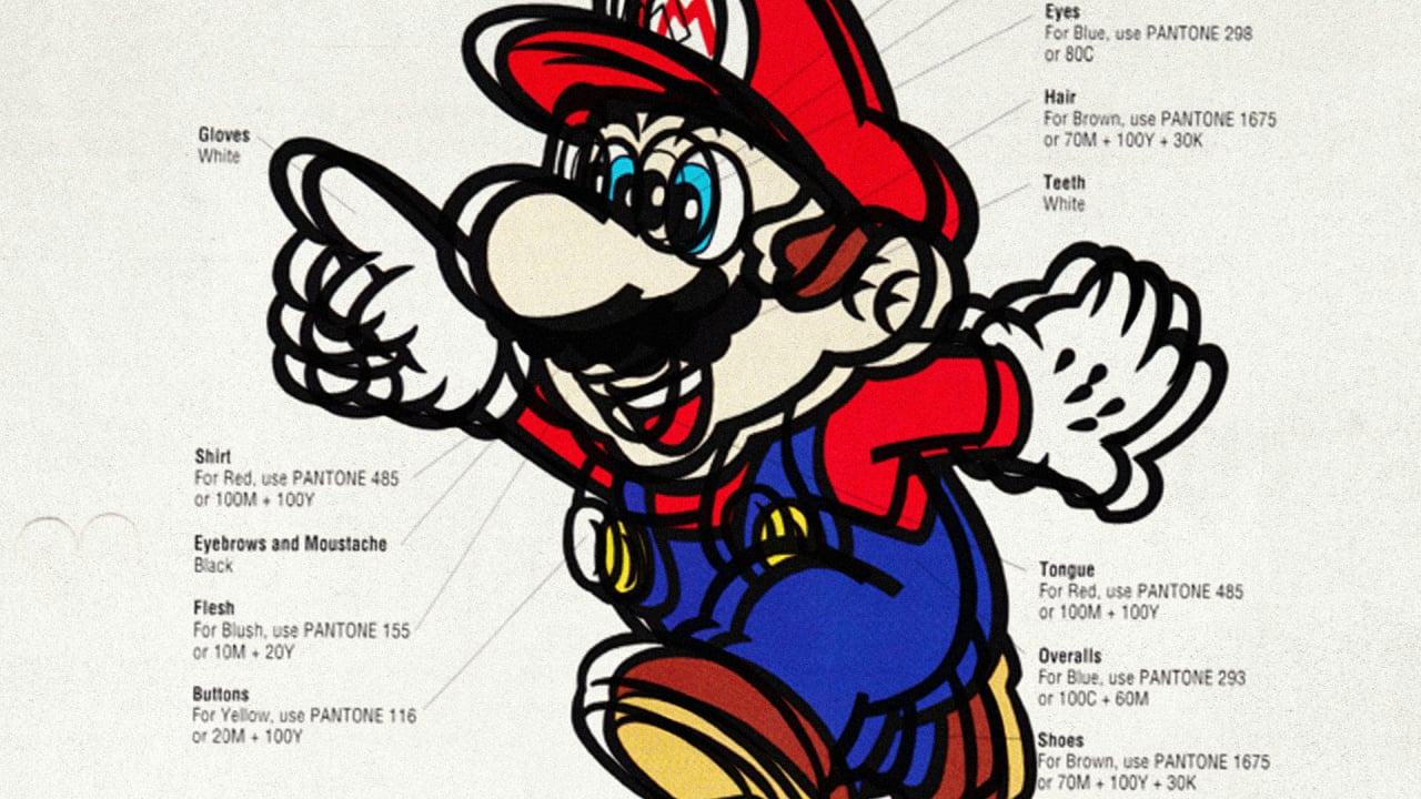 The Official Nintendo Style Guide From 1993
