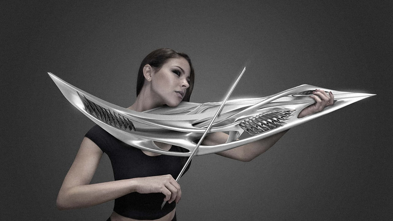 This Violin Looks Like A Sci-Fi Weapon