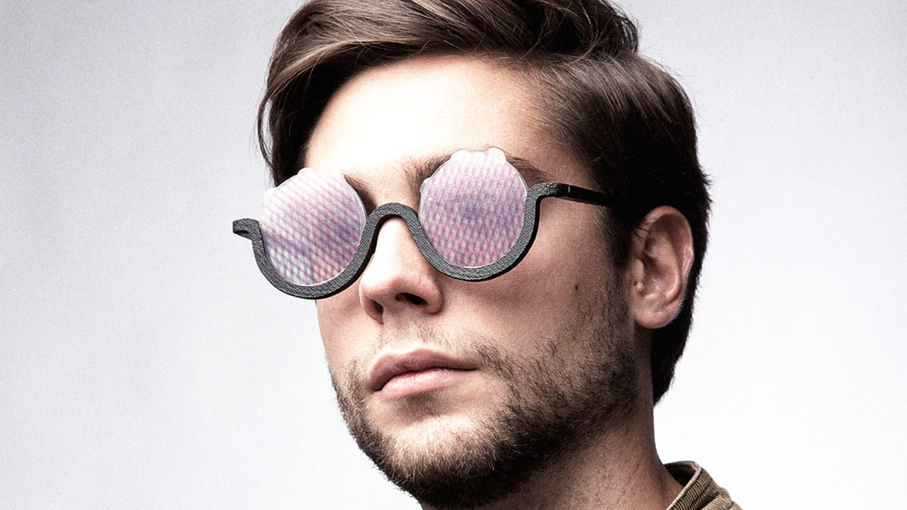 54d6b97a01f1 A Pair Of Sunglasses That Simulate LSD Hallucinations