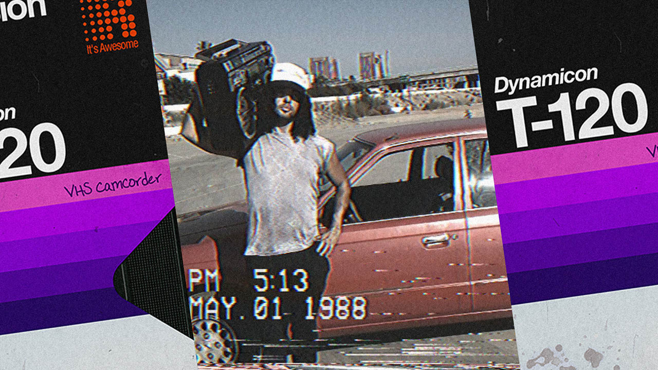Turn Your iPhone Camera Into A Lousy VHS Camcorder