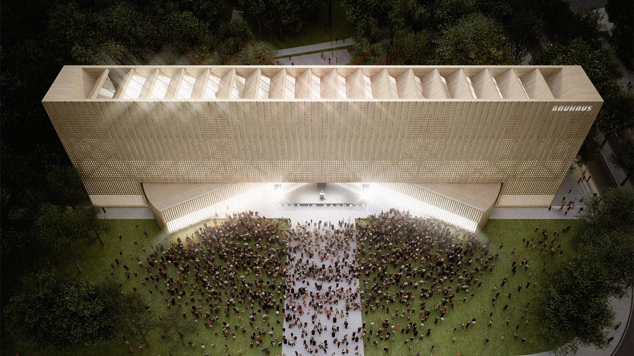 A Transforming Design For The New Bauahaus Museum