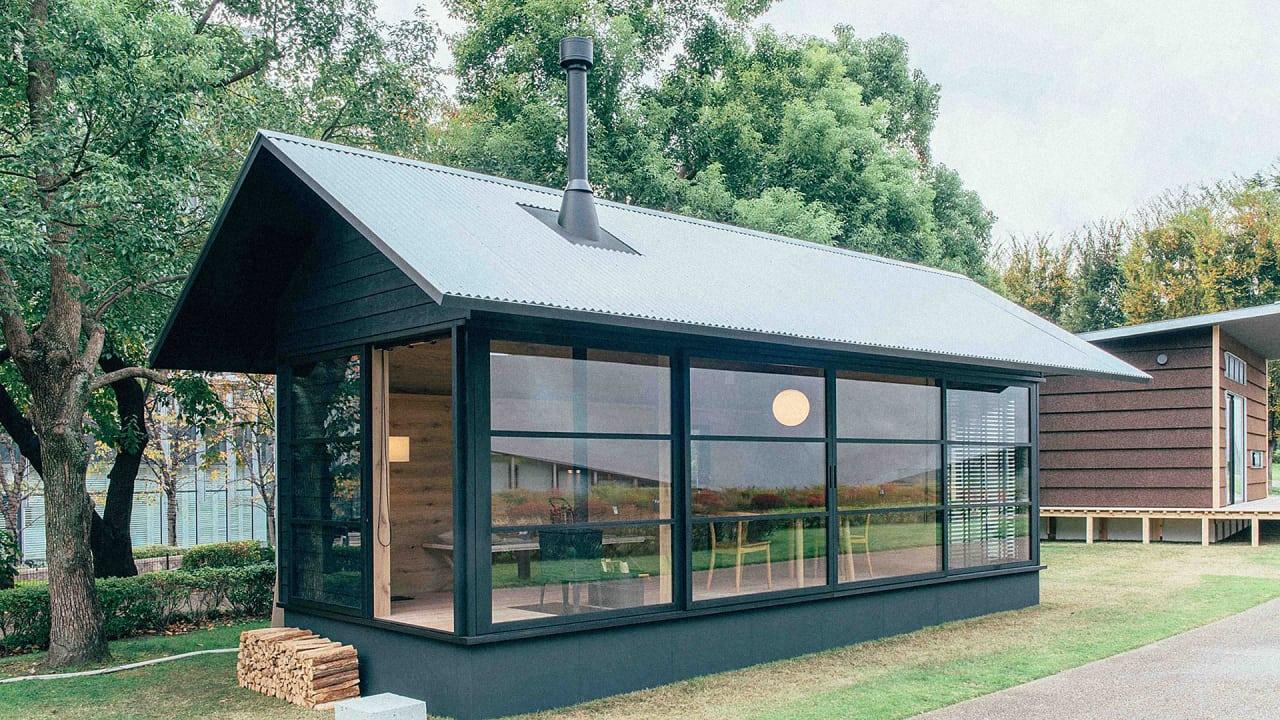 Enjoyable Muji Unveils A Trio Of Tiny Prefab Houses Cue Envy Download Free Architecture Designs Scobabritishbridgeorg