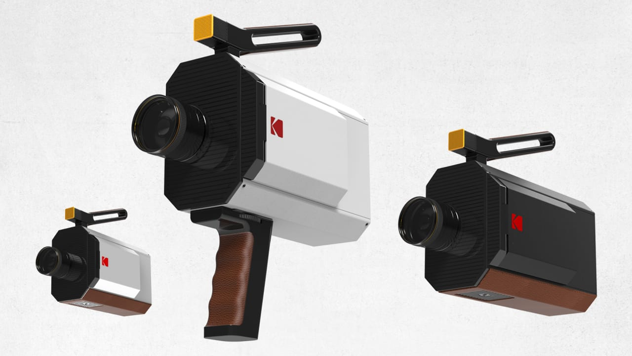 Kodak And Yves Béhar Team Up On An 8mm Camera To Save The