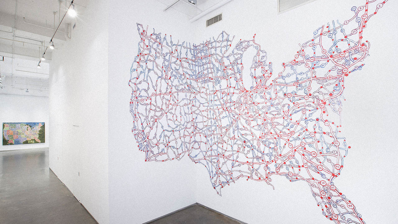 How Pentagram's Paula Scher Makes A Map