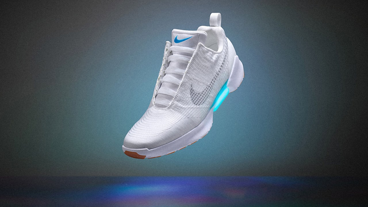 409ad7432439 Nike s Self-Lacing Shoes Are Here
